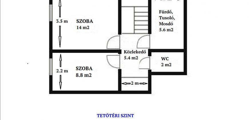 Eladó Lakás 5400 Mezőtúr, Központban lévő első emeleti, kétszintes #8009
